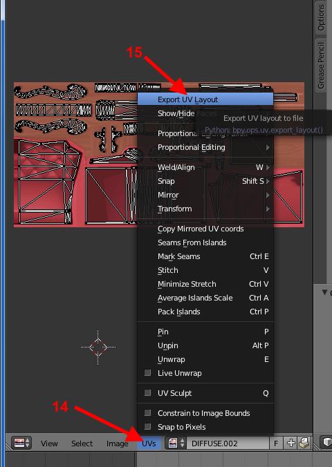 [Apprenti] Récupérer l'UV Map d'un objet pour faciliter sa recoloration   avec Sims 4 Studio   1210