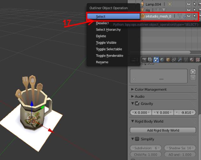 [Intermédiaire] Configurer un nouveau mesh objet avec Sims 4 Studio 1213