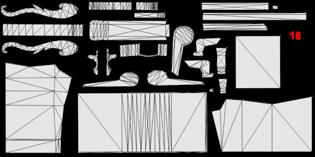 [Apprenti] Récupérer l'UV Map d'un objet pour faciliter sa recoloration   avec Sims 4 Studio   1410