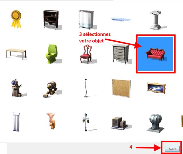[Apprenti] Récupérer l'UV Map d'un objet pour faciliter sa recoloration   avec Sims 4 Studio   210