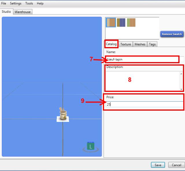 [Intermédiaire] Configurer un nouveau mesh objet avec Sims 4 Studio 412