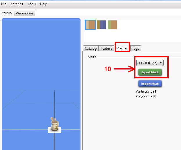 [Intermédiaire] Configurer un nouveau mesh objet avec Sims 4 Studio 512