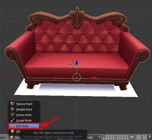 [Apprenti] Récupérer l'UV Map d'un objet pour faciliter sa recoloration   avec Sims 4 Studio   810