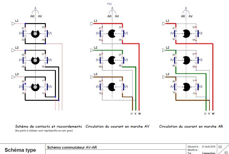 branchement électrique toupie scie chambon 158 TS - Page 2 Page210