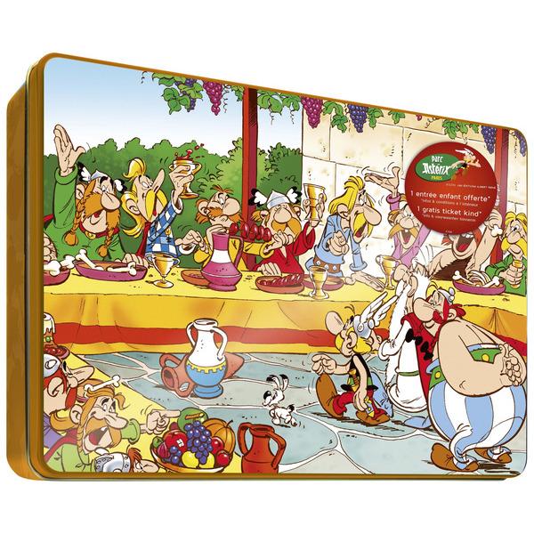 Coffret Astérix et Obelix pour les biscuits JULES DESTROOPER 010