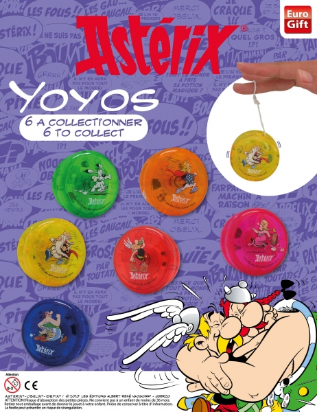 Jouets dans les capsules pour les machines à boules avec Asterix 1296-110