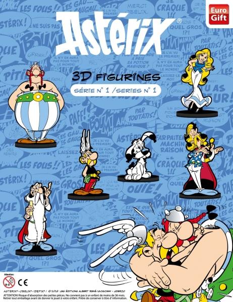 Jouets dans les capsules pour les machines à boules avec Asterix 1377-110