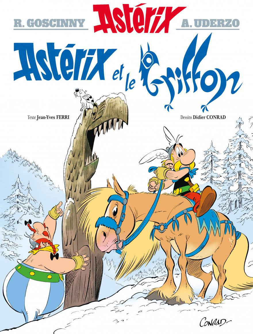 """""""Astérix et le griffon"""" nouvel album 14577110"""
