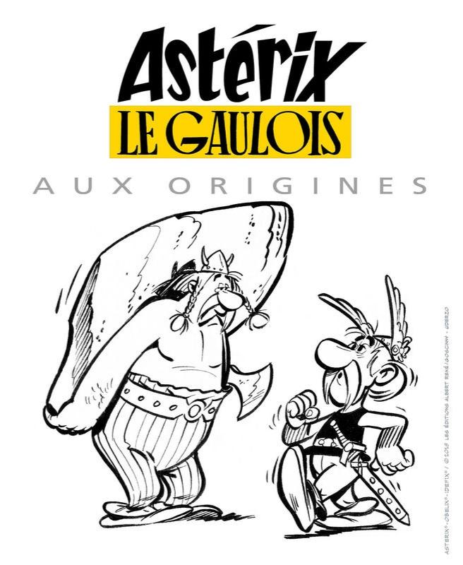 ASTÉRIX LE GAULOIS. AUX ORIGINES (20, 21 et 22 septembre à la BnF 20190810