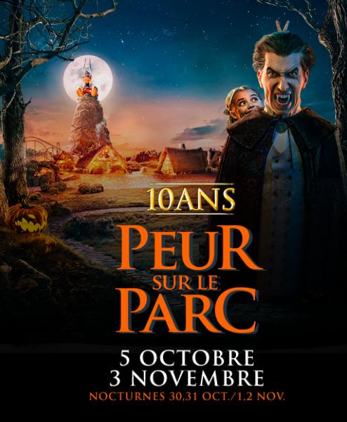 Les 10ans de peur sur le Parc - Parc Astérix 2019 20190911