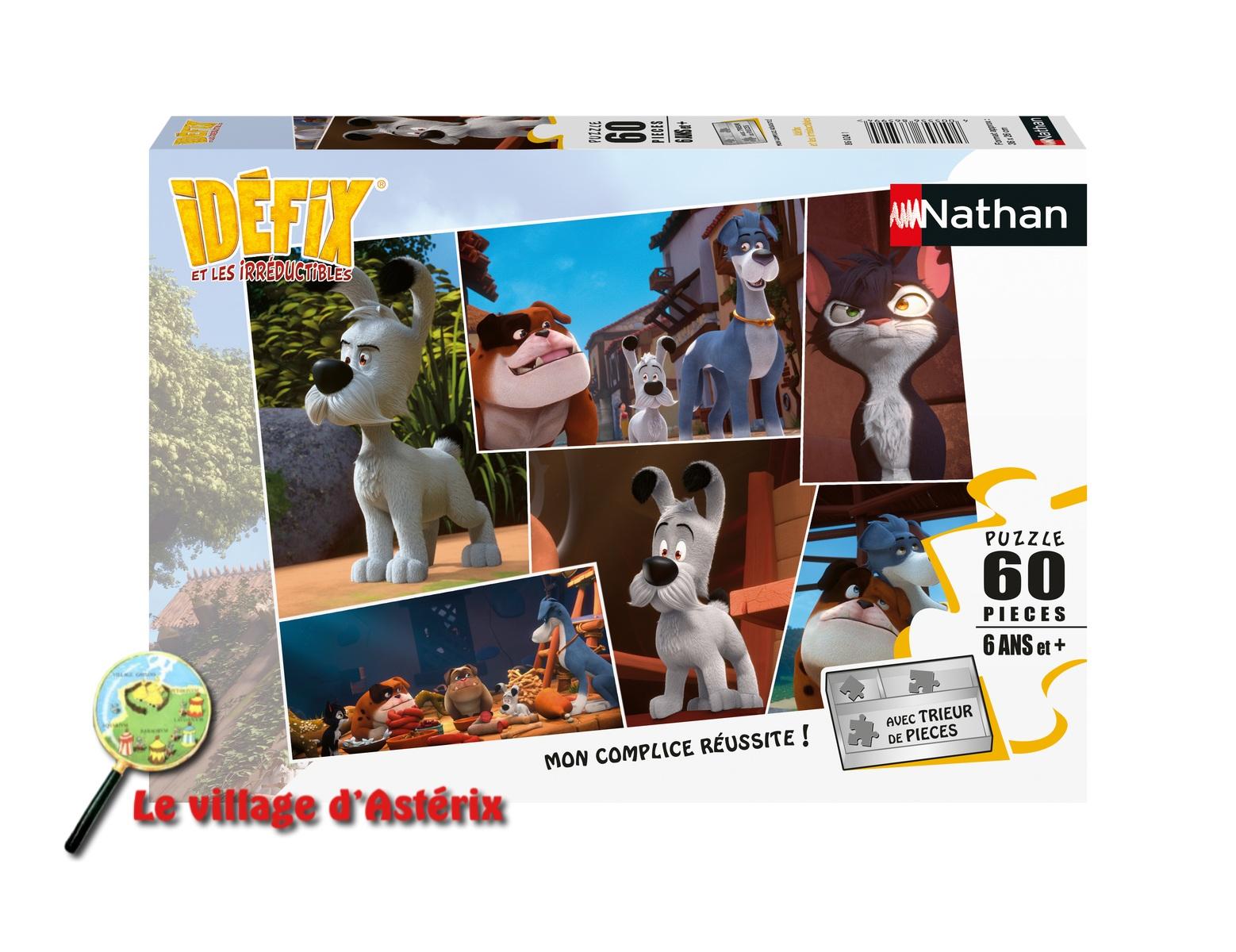 """Nouveau puzzles """"Idefix et ses amis"""" -Nathan 40055510"""