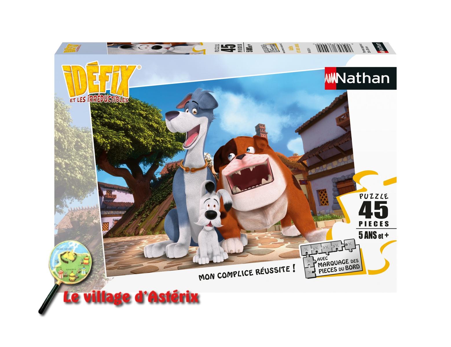 """Nouveau puzzles """"Idefix et ses amis"""" -Nathan 40055513"""