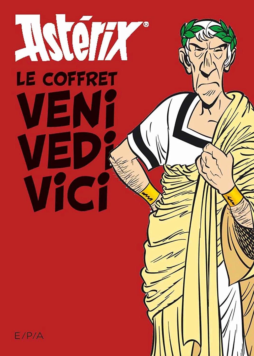 Asterix - Le coffret Veni Vedi Vici : Les citations latines expliquées - Les vérités historiques - 9 octobre 2019 71vt-a10