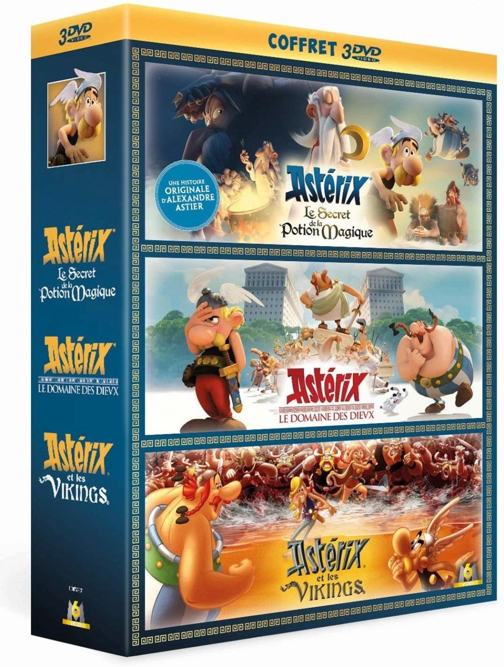 Coffret 3 dvd films Astérix - 25 septembre 2019 81xehh10