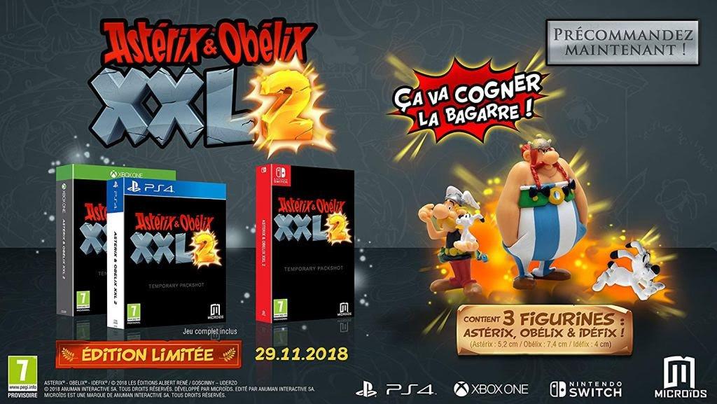 Astérix XXL2 sur Nintendo switch, Ps4, xboxnovembre 2018 91t0fw10