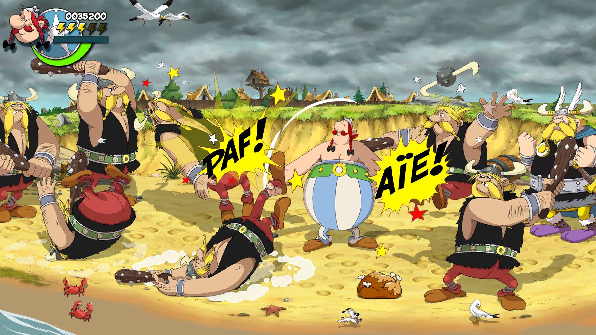 Nouveau jeu vidéo à l'automne avec Astérix & Obélix: Baffez les tous ! Asteri37