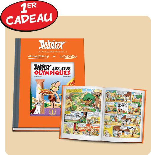 Astérix: La collection officielle - Hachette collections (Canada) Cadeau10