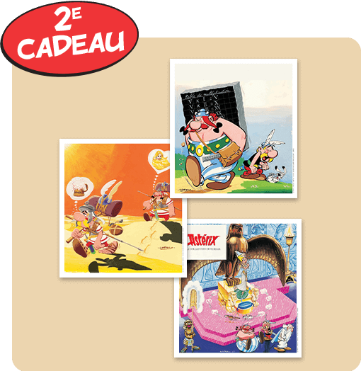 Astérix: La collection officielle - Hachette collections (Canada) Cadeau11