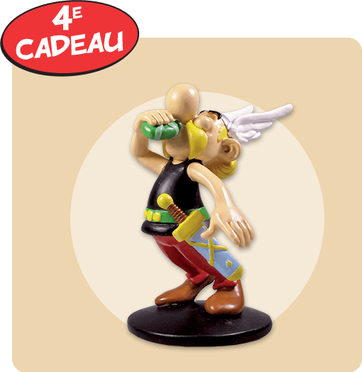 Astérix: La collection officielle - Hachette collections (Canada) Cadeau13