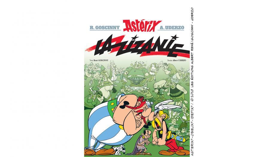 Fiction Astérix, La Zizanie sur France radio (France Culture) le 22 décembre  Couv-l10