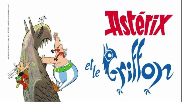 """Annonces pour le prochain album """"Astérix et le griffon"""" octobre 2021 Phpela10"""