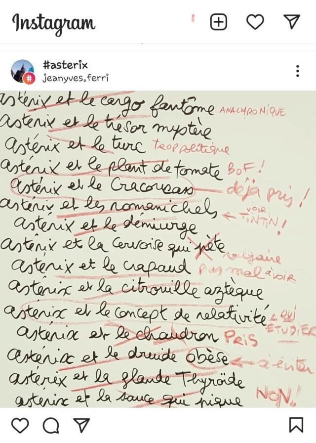 """Annonces pour le prochain album """"Astérix et le griffon"""" octobre 2021 Screen35"""