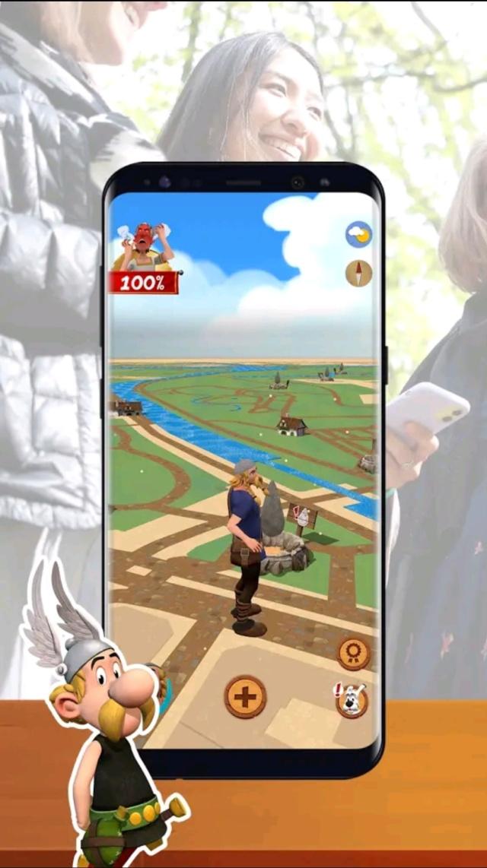 Astérix Vidi Vici: jeu mobile en réalité augmentée  - printemps 2021 Screen40