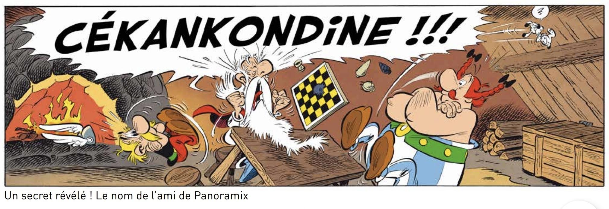 """""""Astérix et le griffon"""" nouvel album Screen45"""