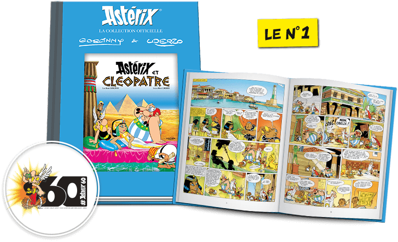 Astérix: La collection officielle - Hachette collections (Canada) Visuel10