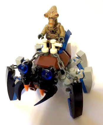 Lego Brick Insects Mounte10