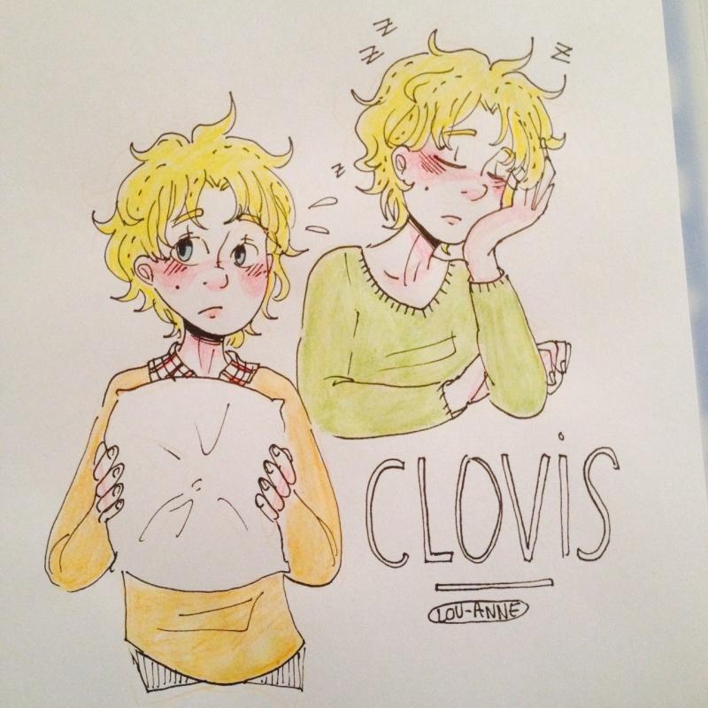 Dessins divers et variés  - Page 14 Clovis10