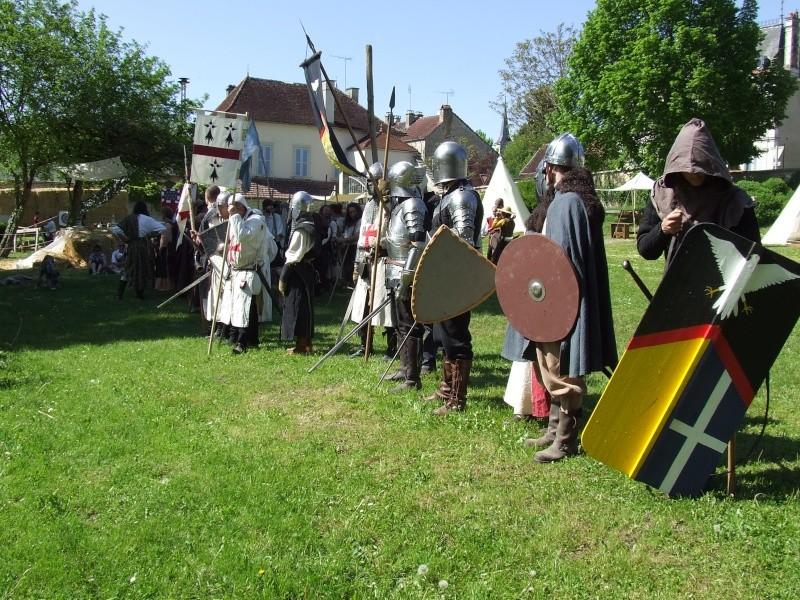 Première fête médiévale d'Ancy le Franc  Dscf6516