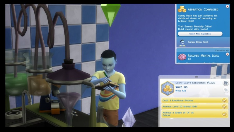 Olie Sirat: Solitary Sim Seeking Simoleons by EQ *Goal Completed* - Page 5 Sonny_11