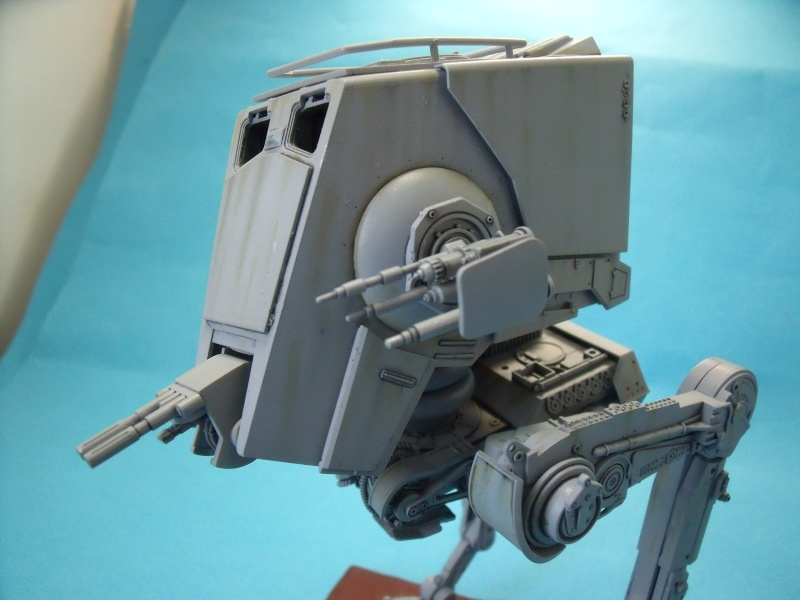 """Star Wars """"AT-ST"""" 1/48 bandai      """"   terminé"""" page 5 - Page 2 Dscf4319"""