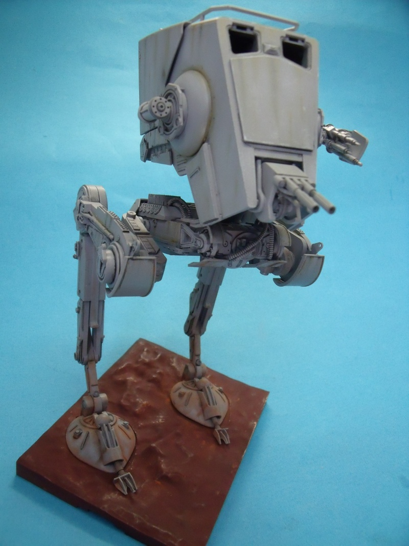 """Star Wars """"AT-ST"""" 1/48 bandai      """"   terminé"""" page 5 - Page 3 Dscf4324"""