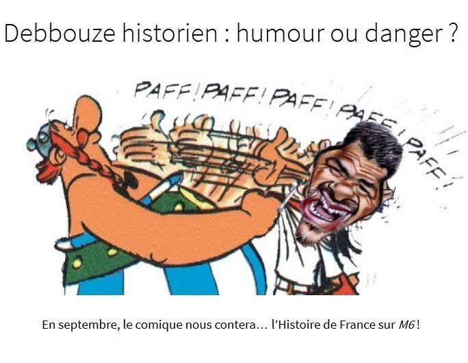 Incroyable  !!! Debbouze historien: humour ou danger? 2015-015