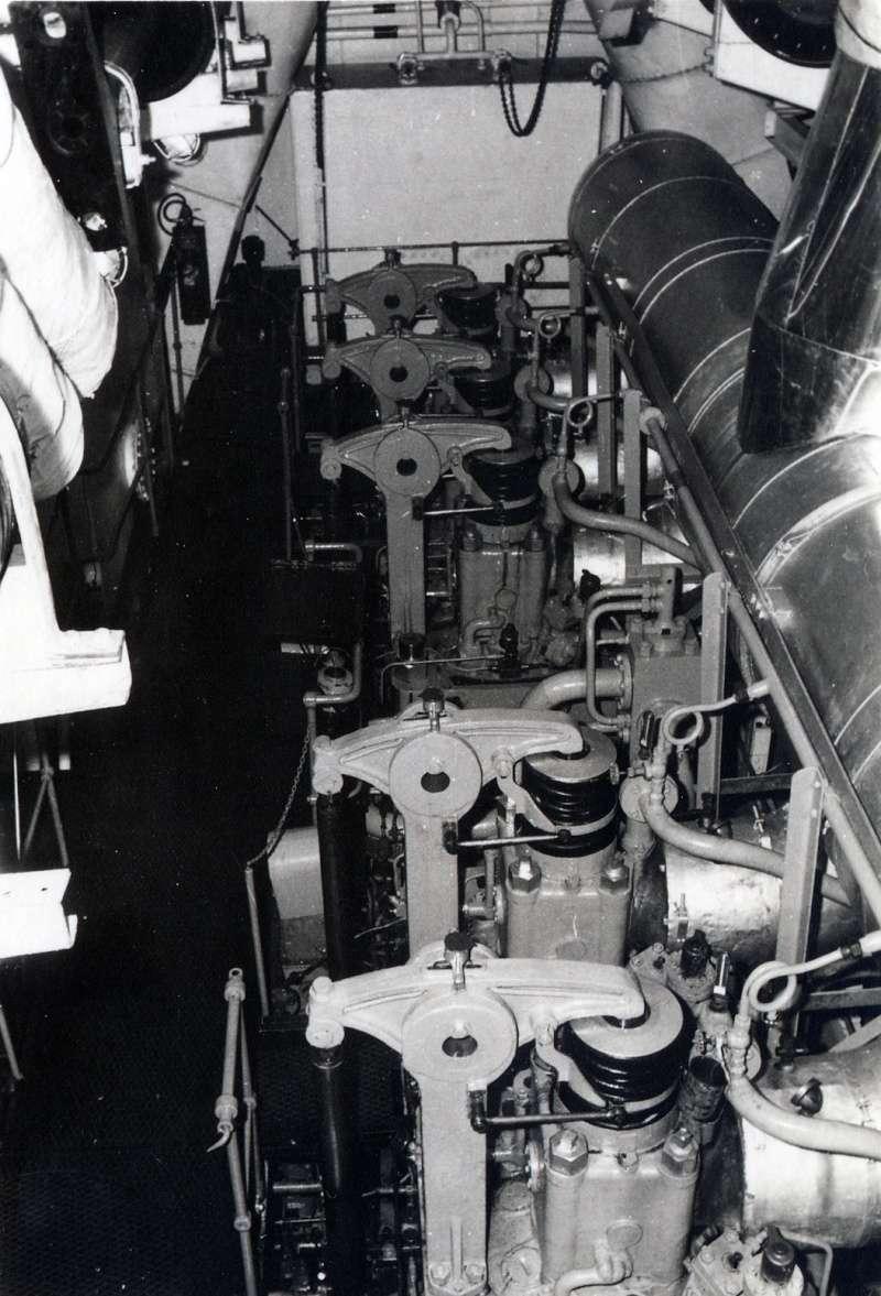 1966 - A957 (Europe du nord - Golfe du Mexique) Moteur10
