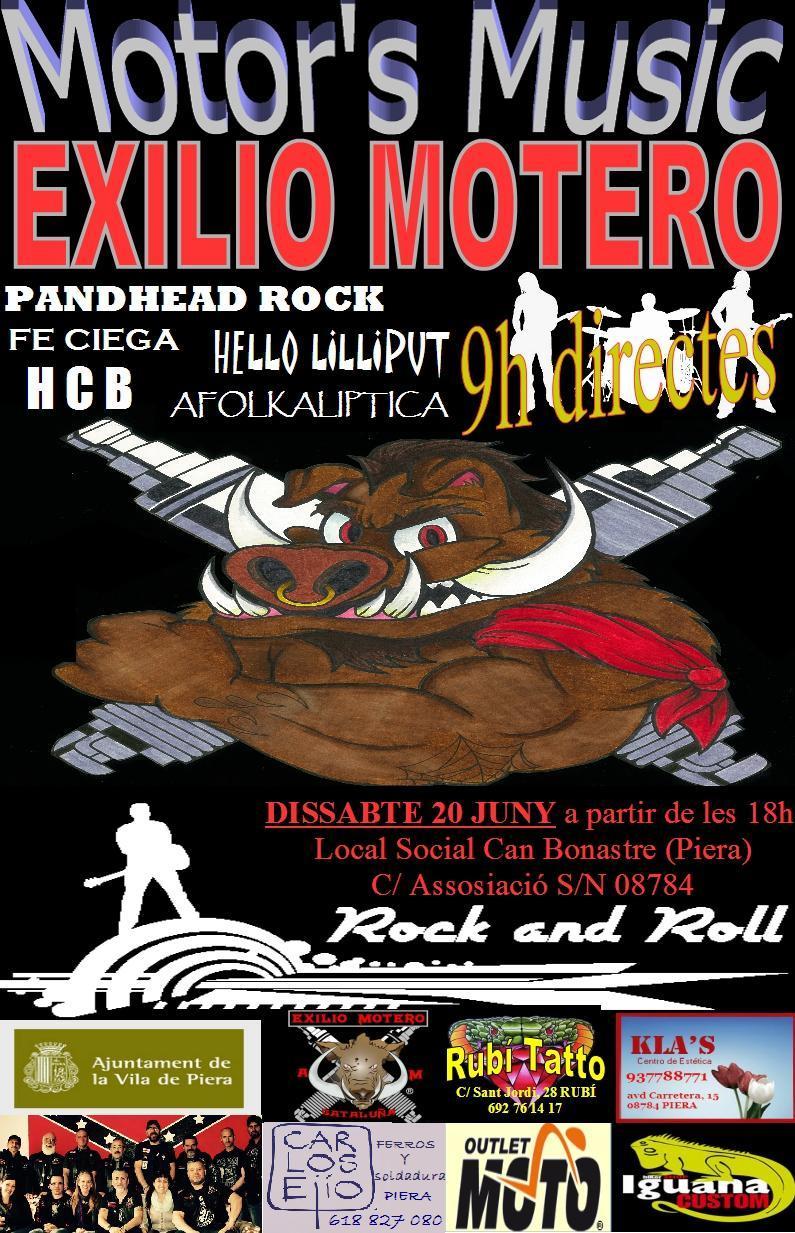 "Festa del Exilio ""MOTOR'S MUSIC""  Festiv11"
