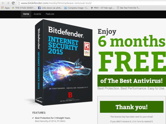 Miễn phí 6 tháng bản quyền Bitdefender Internet Security 2015 (2) Bitdef13