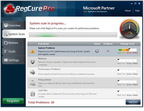 Tối ưu PC với RegCure Pro v3.1 Regcur10