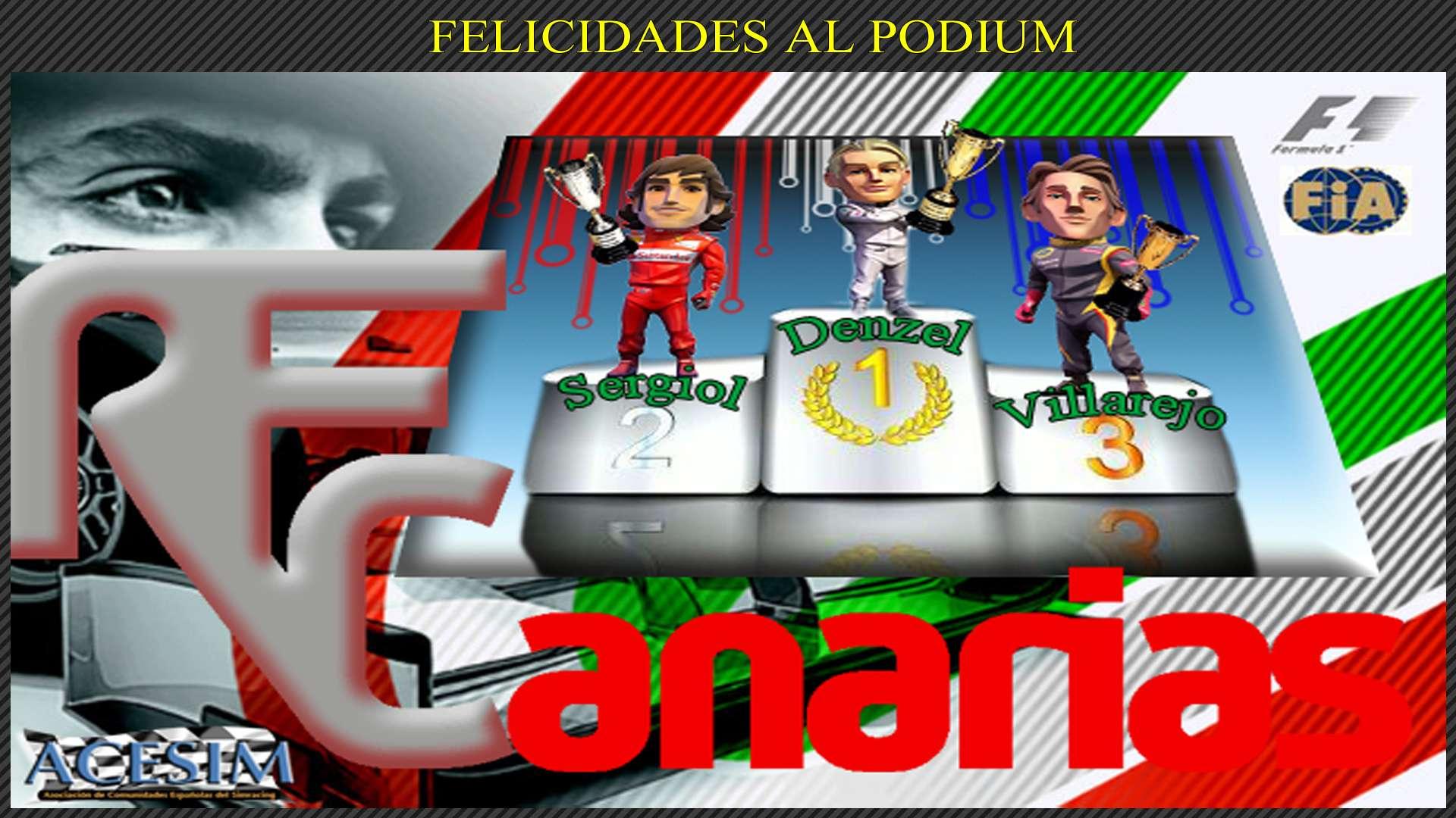 PRESENTACION CAMPEONATO F1 GAMESTOCK CAR MALASIA Podium13