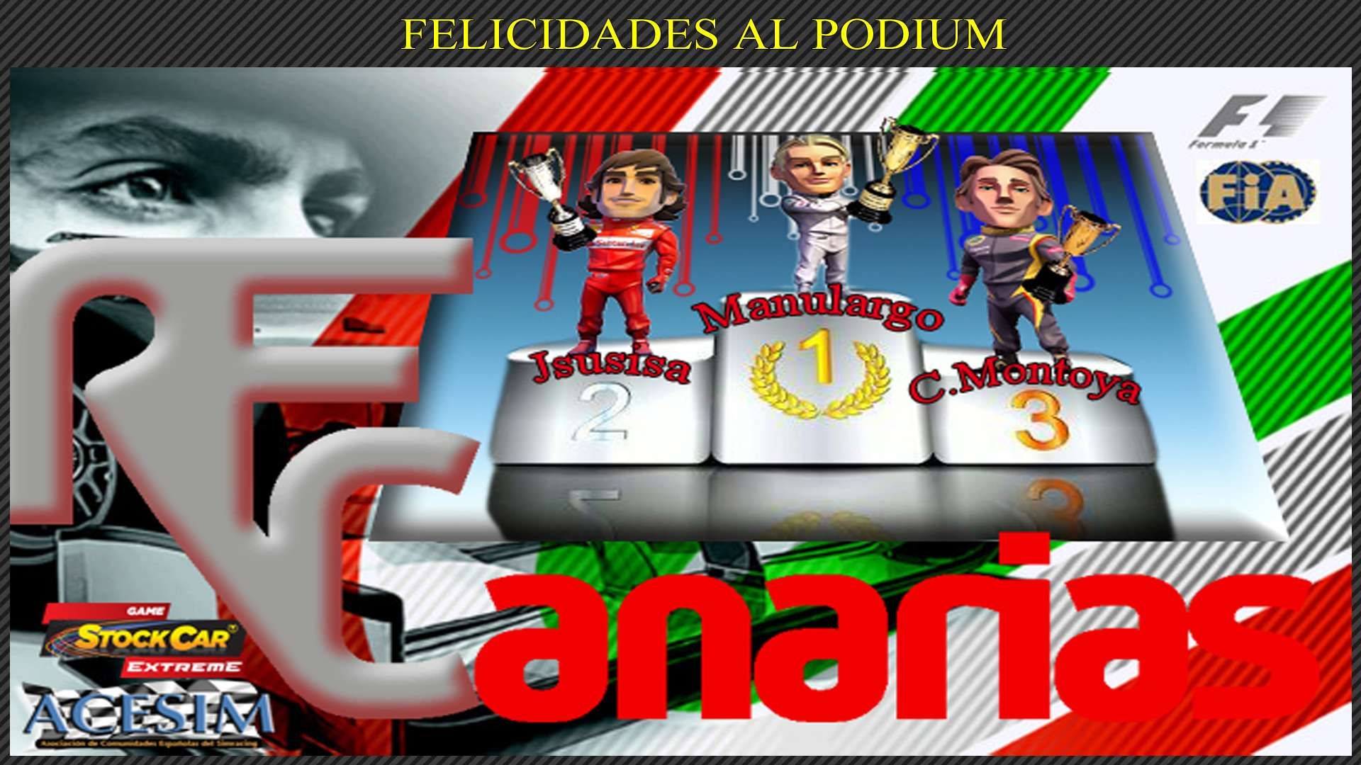 PRRESENTACION GP F1-2015 MONACO Podium27