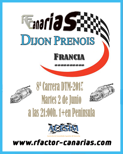 COMENTANOS TU RELATO DE CARRERA EN DIJON PRENOIS Presen19