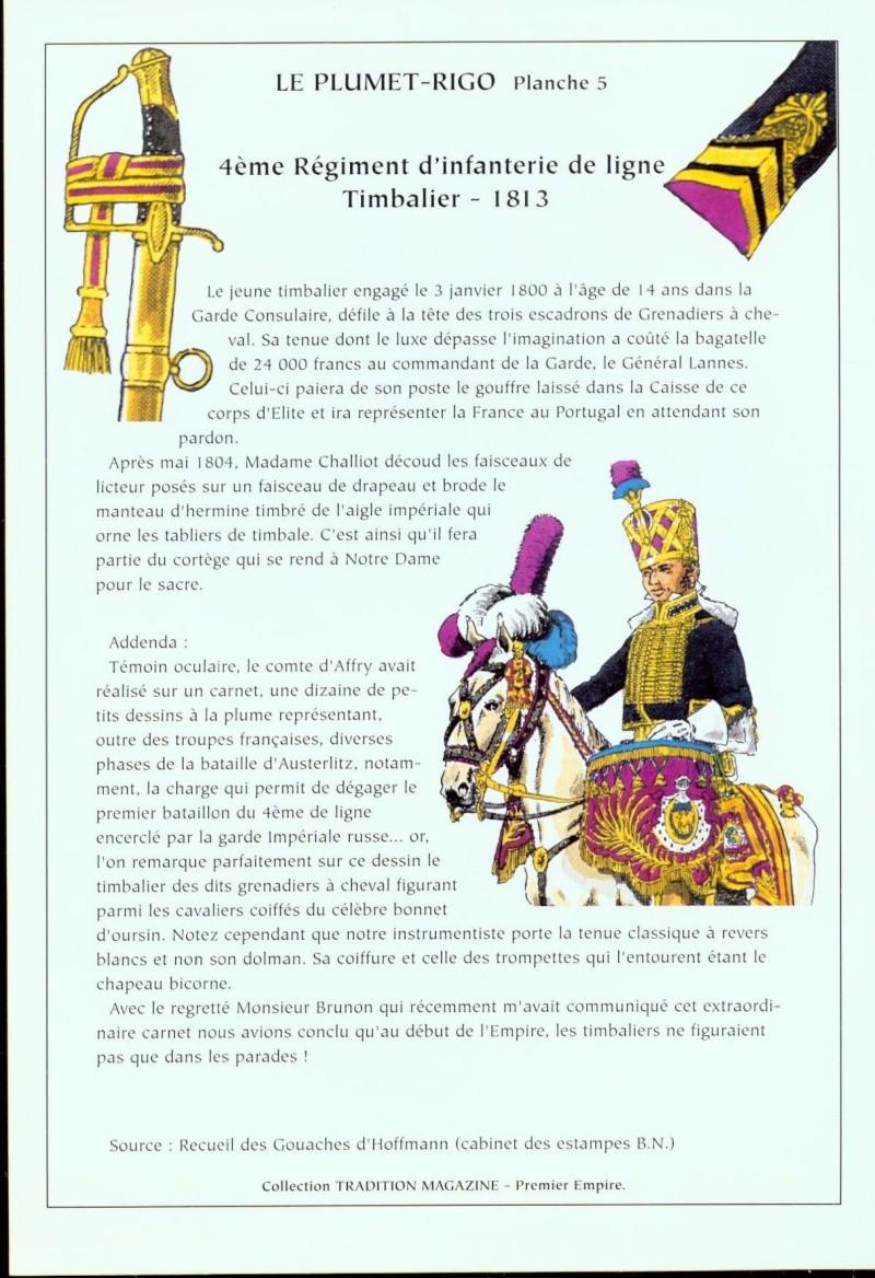 Timbalier des grenadiers à cheval de la Garde Impériale 005b10