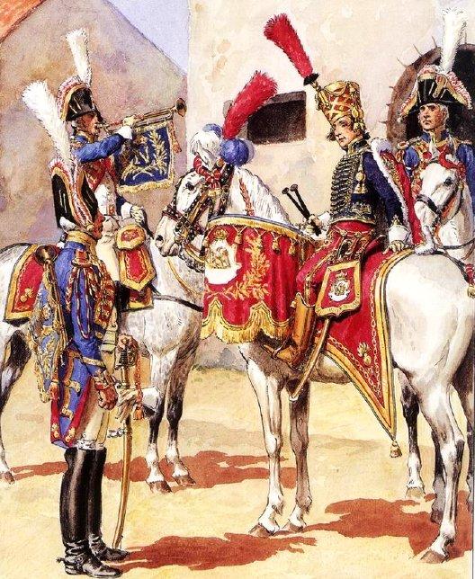 Timbalier des grenadiers à cheval de la Garde Impériale Band_110