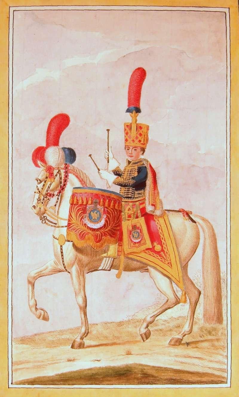 Timbalier des grenadiers à cheval de la Garde Impériale Timbal10