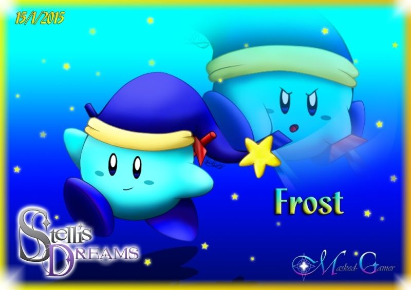 View a character sheet Frost_10