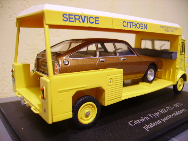 Plateau porte-voiture Citroën Type_h14