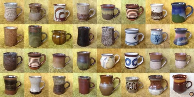 Mugs: Stichbury, Smisek, Engelhard, Firth, Brickell, Schiessel, Truebridge, ADRIAN COTTER Handpo10