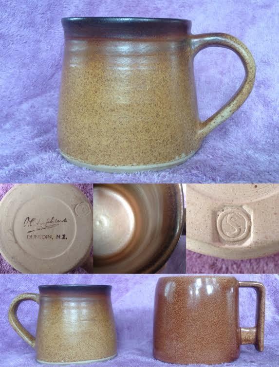 A different hand-potted O.C. Stephens mug Ocs10